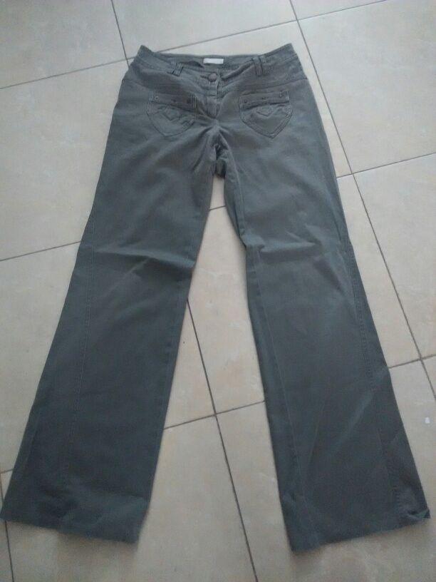 pantalón verde talla 38 promod