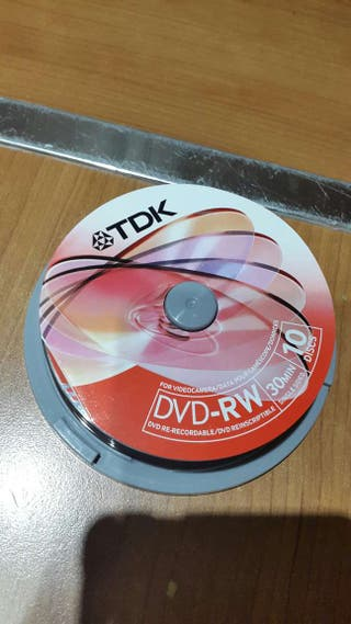 Mini DVDs sin estrenar.