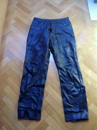 Pantalón / pantalones (duo) cuero BONAVENTURE