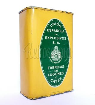 LATA POLVORA P.S.B. 300 GR EXPLOSIVOS ASTURIAS