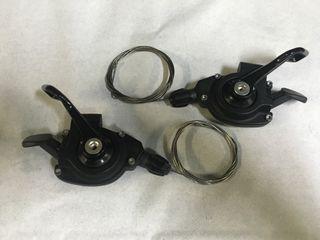 Desviador X9 y manetas X7