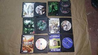 6 juegos de Pc regalo un DVD