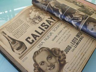 Anuarios revista semana años 40