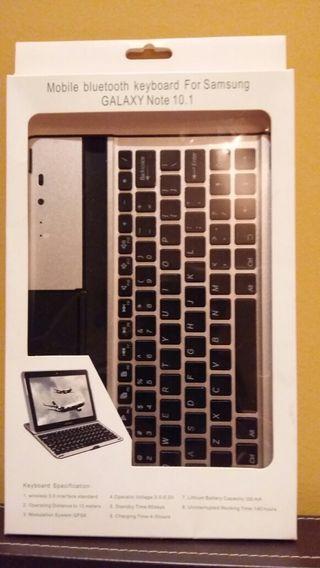 Teclado inalámbrico Samsung Tablet