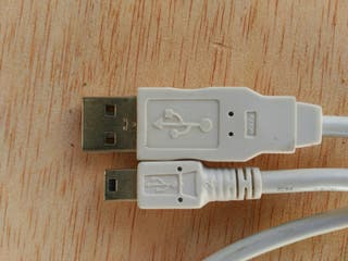 Cable USB a mini USB