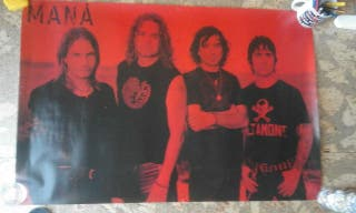 Poster MANÁ 91×61cm