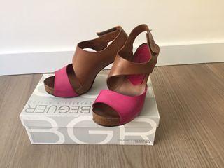 Zapato tacón. Colección Penélope Collection.