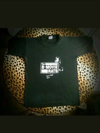 CAMISETA THE B-MOVIE RATS ROCK'N'ROLL QUEEN