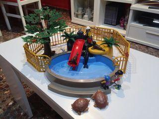 Playmobil zoo acuático.