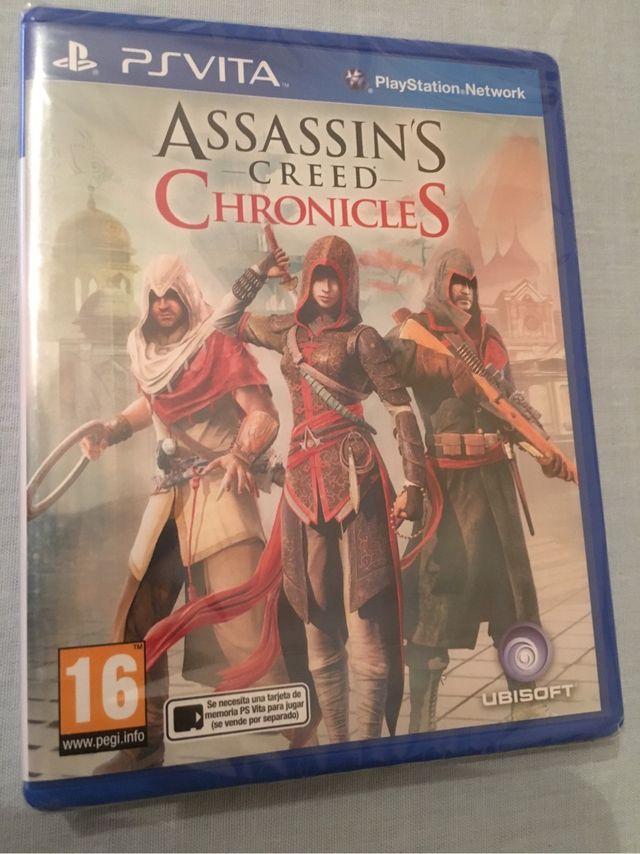 Assassins Creed Chronicles Ps Vita Precintado De Segunda Mano Por