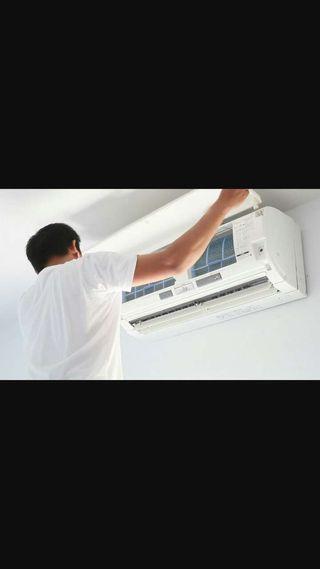 Se instala aire acondicionado muy muy económico