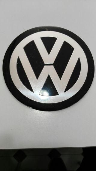 Emblema vw trasero 11cm