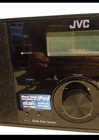 Equipo de Música JVC