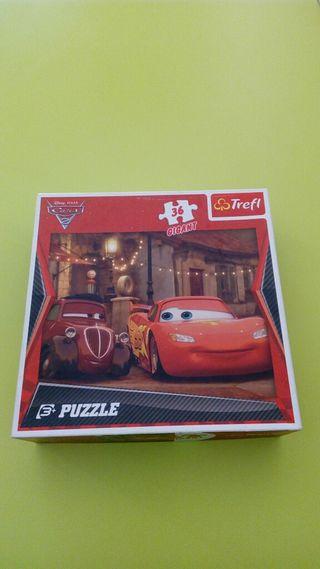 Puzzle gigante Cars 2