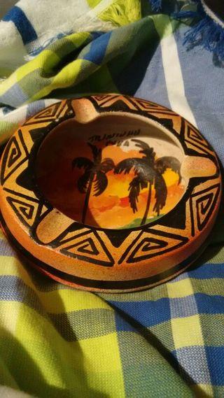 Cenicero de cuba de trinidad.