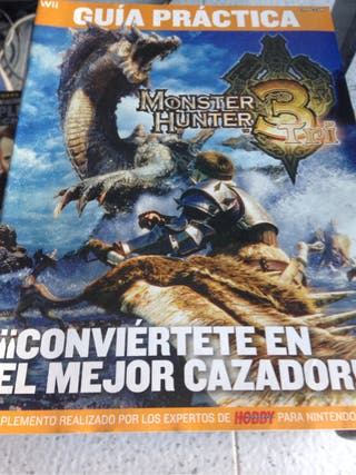 WII guía práctica Monster Hunter 3 Tri
