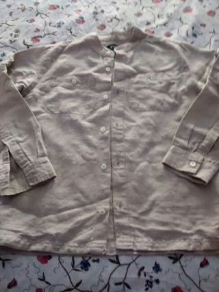 Camisa de lino canada house talla 8