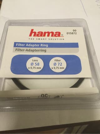 Filtro hama 72mm