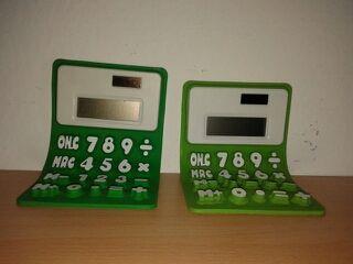 Calculadoras solares flexibles