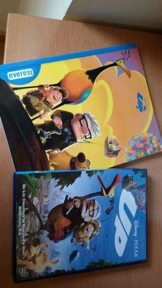 DISNEY UP DVD Y LIBRO