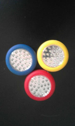 Linterna super brillo de 24 LED