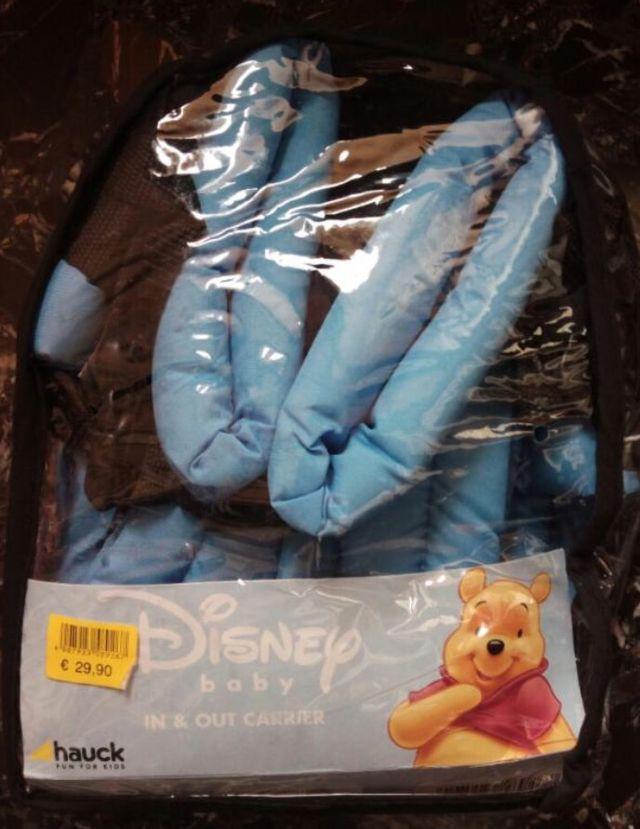 Mochila portabebes Disney