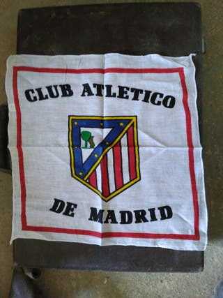 Pañuelos de tela del at. Madrid