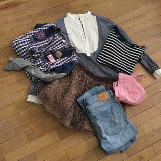 Lote ropa niña Talla 11-14