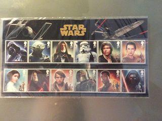 Sellos Star Wars 2015