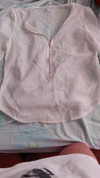 Blusa blanca xl