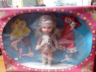 Antigua muñeca Alfonso 40 cm NUEVA CON SU EMBALAJE CON ACCESORIOS