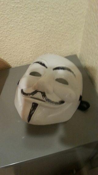 Máscara V de Vendetta Anonymous