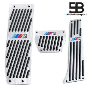 Set pedales M de BMW color plata