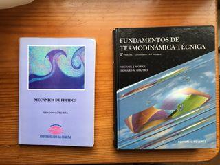 Libros Moran Shapiro y Mecanica de Fluidos