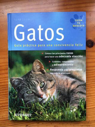 Libro ilustrado sobre los gatos