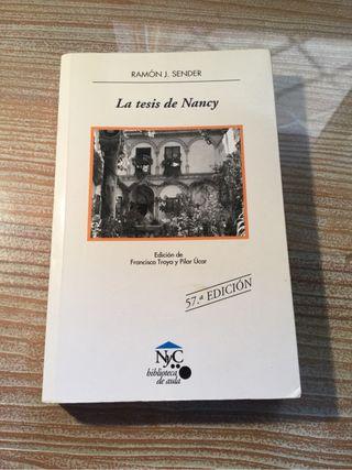 La Tesis de Nancy. Ramón J. Sender.