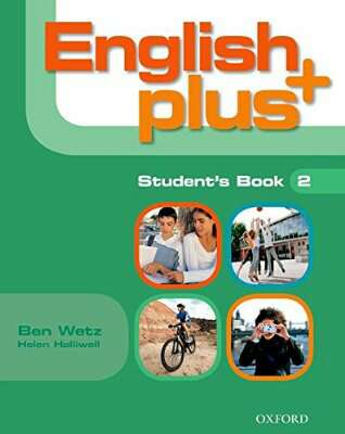 Libro ingles English plus Student book 2 Ed. Oxford ISBN 9780194848152