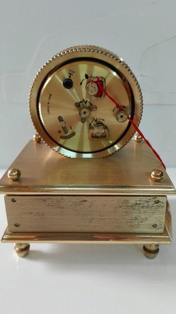 Reloj despertador joyero antiguo