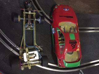 Coche slot wrc 2unidades i una carroceria + chasis