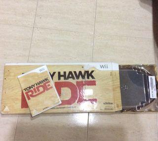 Tony Hawk Ride Juego+tabla Wii