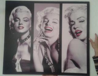 80x70cm Cuadro Marilyn moderno