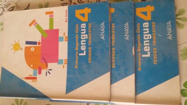 Libros de texto. Cuarto de Primaria. Editorial Anaya de segunda mano ...