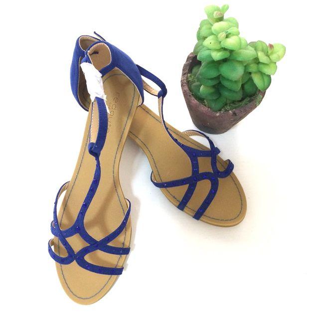 Sandalias azul klein nuevas!