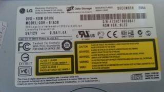 DVD para pc disquetera de CD LG
