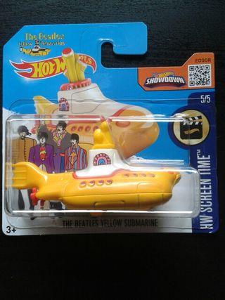 Hotwheels The Beatles Yellow Submarine