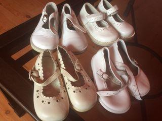 Lote niña zapatos talla 21