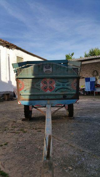 Carro antiguo completo con freno de tambor