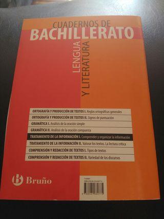Cuadernos de lengua y literatura