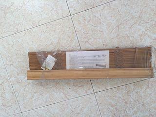 Persiana veneciana de lamas de madera de segunda mano por 12 en barcelona en wallapop - Persiana veneciana madera ...
