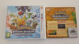 Pokemon 3ds mundo misterioso portales al infinito